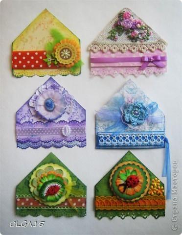 Декоративные закладки фото 1