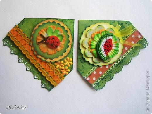 Декоративные закладки фото 17