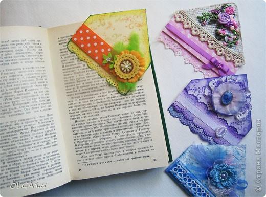 Декоративные закладки фото 19