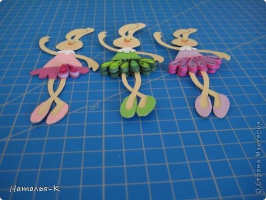 Вот такая у меня получилась балетная группа из зайчат.  фото 14