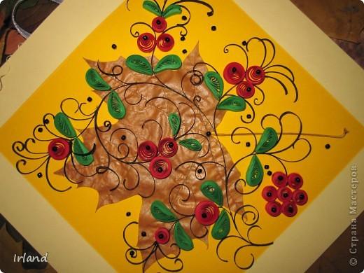 Осень, что может быть более осенним чем желтый кленовый лист, и вкусные ягодки =) фото 6