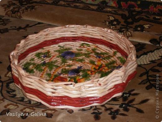 оплела косым плетением коробку из под дисков ДВД фото 3