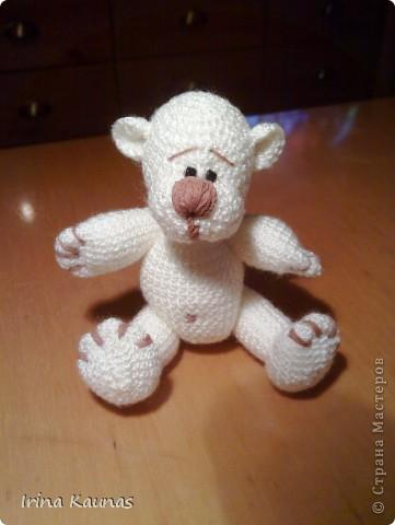 Вот такой белый мишка у меня получился. фото 1