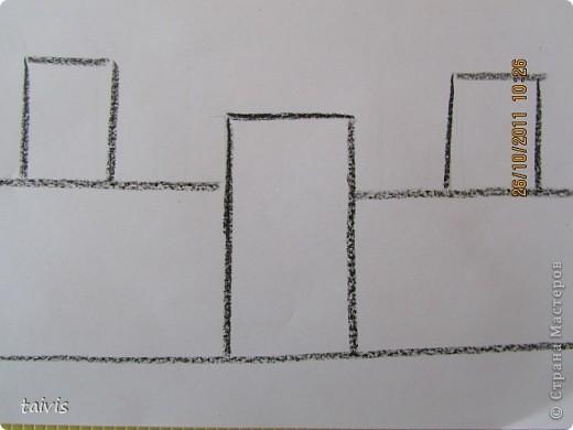 Рисование восковыми мелками. фото 6