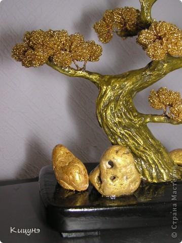 Золотой бонсай и Ледяное дерево фото 7