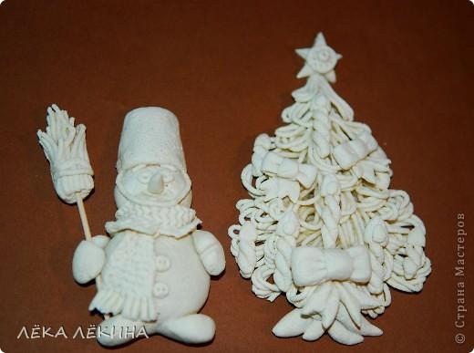 Новогодние игрушки своими руками соленого теста фото