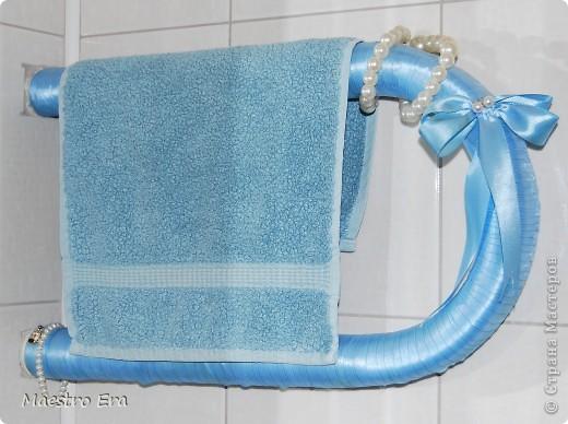 декор трубы в ванной своими руками