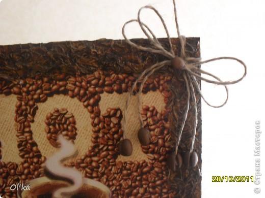 "Панно ""Чашка кофе"".    фото 3"