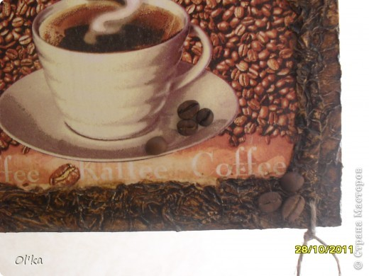 "Панно ""Чашка кофе"".    фото 4"
