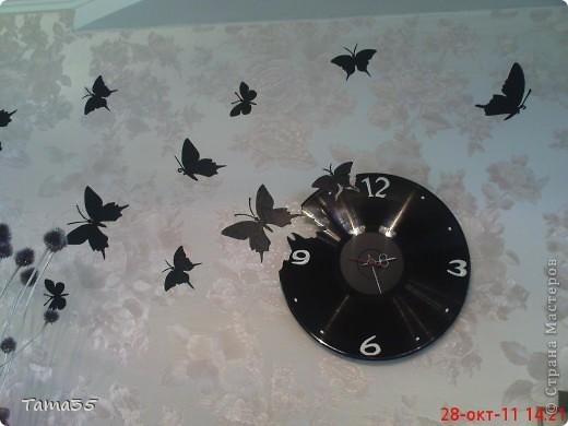Бабочки своими руками из пластинок 36