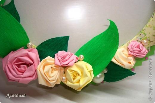 "Рамочка ""Ландыши и розы"" фото 3"