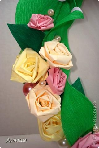 "Рамочка ""Ландыши и розы"" фото 2"