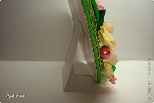 "Рамочка ""Ландыши и розы"" фото 6"