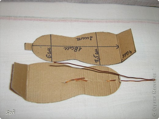 Куклы Мастер-класс Шитьё МК Медсестра Проволочно-картонный каркас как делаю это я Капрон фото 4