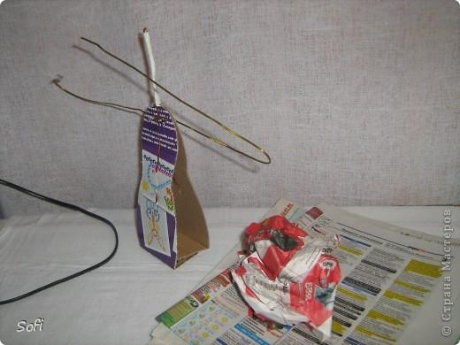 Куклы Мастер-класс Шитьё МК Медсестра Проволочно-картонный каркас как делаю это я Капрон фото 7