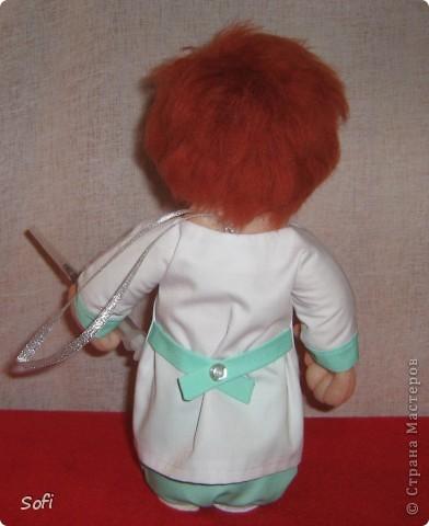 Куклы Мастер-класс Шитьё МК Медсестра Проволочно-картонный каркас как делаю это я Капрон фото 44