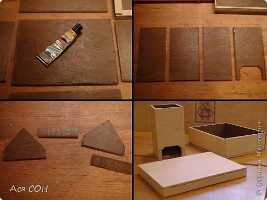 Как сделать каркас чайного домика