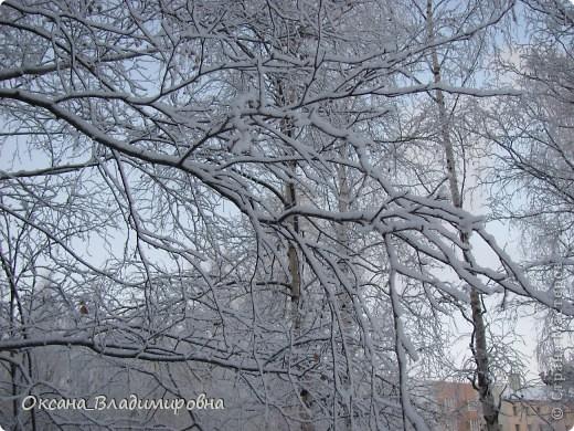 Ну вот решила показать, нашу снежную осень)) фото 4