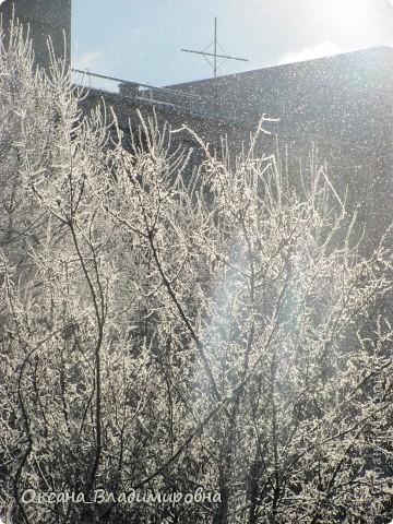 Ну вот решила показать, нашу снежную осень)) фото 14