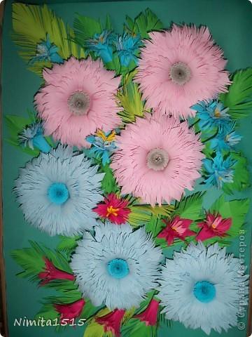 Мои первые цветочки. Огромное спасибо Ольге Ольшак http://stranamasterov.ru/user/12816, благодаря вашим работам, я решила попробовать себя в квиллинге. Цветочки я делала по мк http://www.liveinternet.ru/users/3909543/post185652810/   фото 5