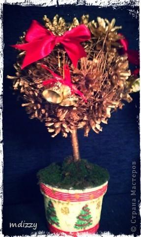 Новогоднее деревце из в подарок