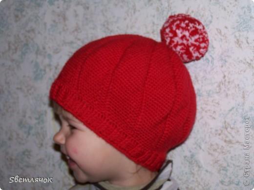 еще одна шапочка для дочурки фото 2