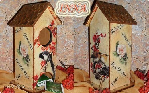 Здравствуйте, дорогие мастерицы и гости Страны Мастеров! Вот и наступила время показать мой первый чайный домик, на всякий случай делала поэтапные фото. фото 1