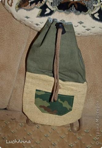 шьем рюкзак своими руками для рыбалки
