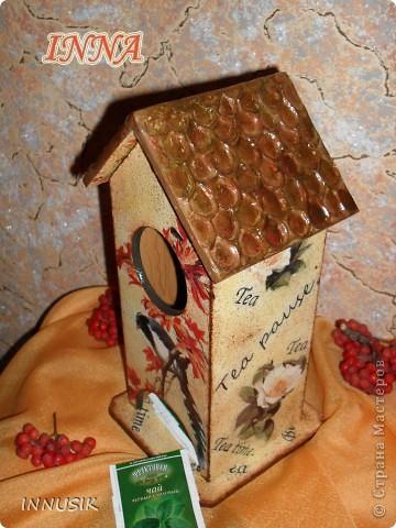 Здравствуйте, дорогие мастерицы и гости Страны Мастеров! Вот и наступила время показать мой первый чайный домик, на всякий случай делала поэтапные фото. фото 21