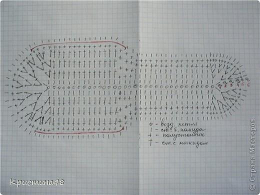 Вязание стелек крючком схема 13