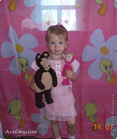 описание - http://amigurumi.com.ua/pattern/37-dlya-opitnih/189-tot-samyj-medved фото 4