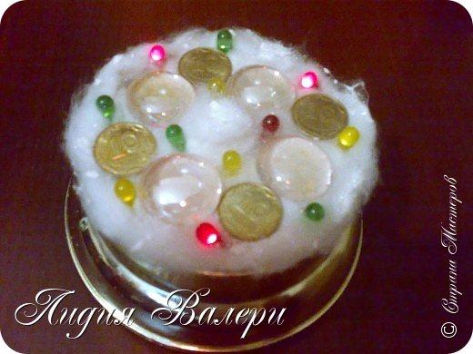 Так как гласит календарь Новый 2012 год - год черного водяного дракона. Вот у меня и появилась идея сделать елочку, но не простую, а  приносящую удачу, счастье, богатство.... в Новом 2012 году. фото 19