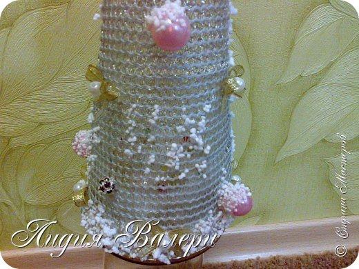 Так как гласит календарь Новый 2012 год - год черного водяного дракона. Вот у меня и появилась идея сделать елочку, но не простую, а  приносящую удачу, счастье, богатство.... в Новом 2012 году. фото 8