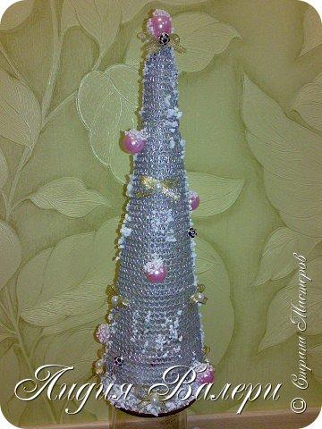 Так как гласит календарь Новый 2012 год - год черного водяного дракона. Вот у меня и появилась идея сделать елочку, но не простую, а  приносящую удачу, счастье, богатство.... в Новом 2012 году. фото 7