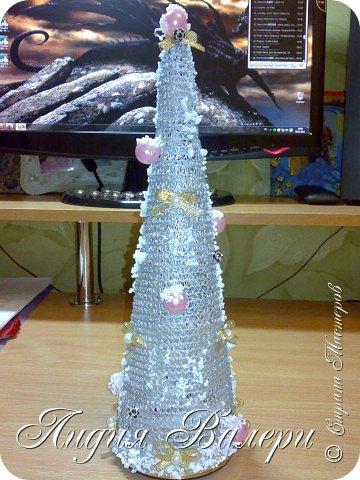 Так как гласит календарь Новый 2012 год - год черного водяного дракона. Вот у меня и появилась идея сделать елочку, но не простую, а  приносящую удачу, счастье, богатство.... в Новом 2012 году. фото 4