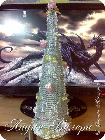 Так как гласит календарь Новый 2012 год - год черного водяного дракона. Вот у меня и появилась идея сделать елочку, но не простую, а  приносящую удачу, счастье, богатство.... в Новом 2012 году. фото 1
