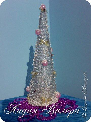 Так как гласит календарь Новый 2012 год - год черного водяного дракона. Вот у меня и появилась идея сделать елочку, но не простую, а  приносящую удачу, счастье, богатство.... в Новом 2012 году. фото 22