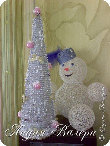 Так как гласит календарь Новый 2012 год - год черного водяного дракона. Вот у меня и появилась идея сделать елочку, но не простую, а  приносящую удачу, счастье, богатство.... в Новом 2012 году. фото 24