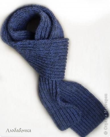 Вязаные шарфы хомуты спицами описание