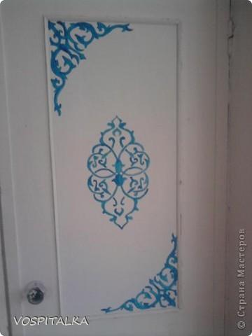 Весеннее настроение. Роспись стен и мебели фото 1