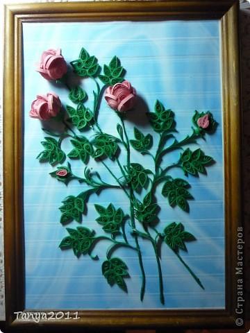 Вот такой букетик роз. фото 1