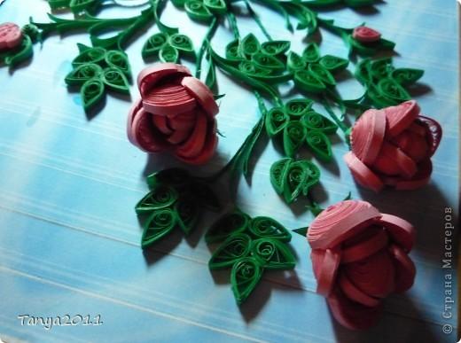Вот такой букетик роз. фото 3