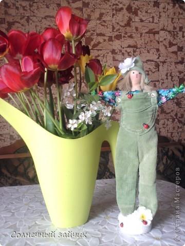 """Как давно я не """"хвасталась"""", так говорит моя дочуня. Куколки сделаны еще в мае, но выставляются только сейчас. фото 2"""