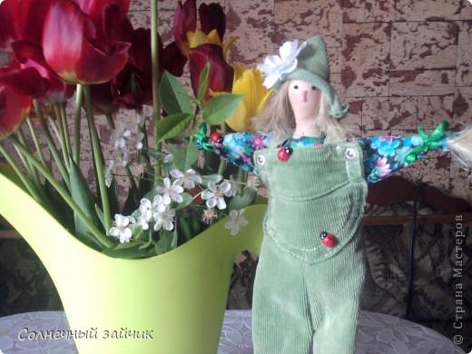 """Как давно я не """"хвасталась"""", так говорит моя дочуня. Куколки сделаны еще в мае, но выставляются только сейчас. фото 1"""
