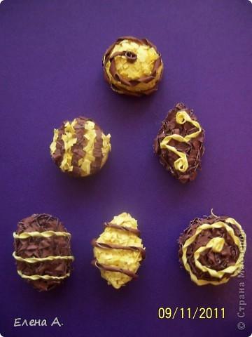 Шоколадные конфеты фото 2