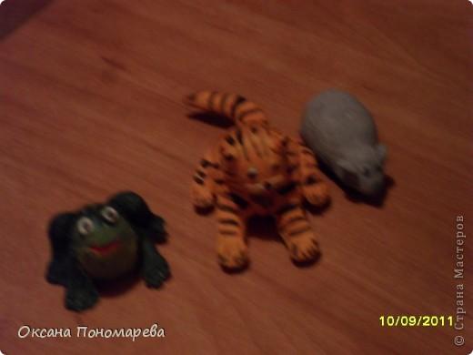 Игрушки из теста и не только. фото 1