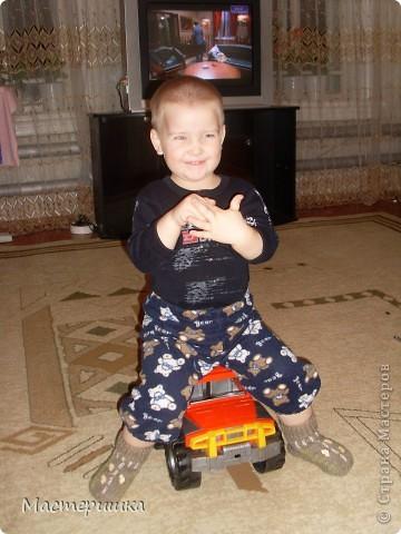 Добрый вечер Всем! Связала сынку (младшему) носочки с сюрпризом. Очень любим машинки, но не очень носить носочки. фото 8