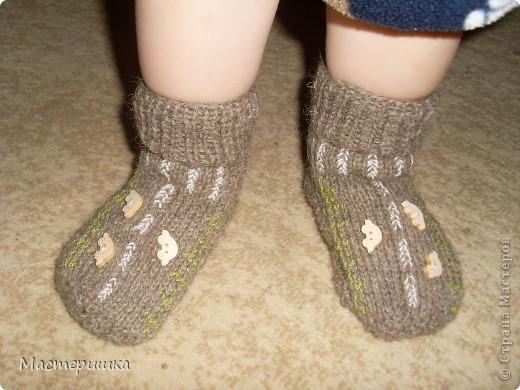 Добрый вечер Всем! Связала сынку (младшему) носочки с сюрпризом. Очень любим машинки, но не очень носить носочки. фото 1