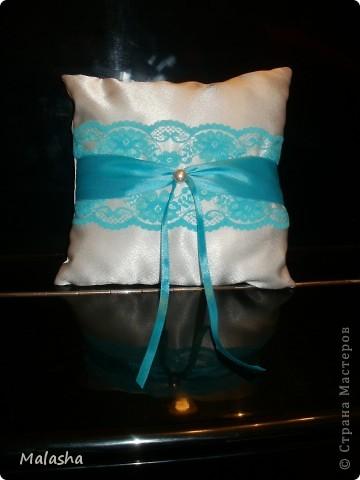 Бокалы, подушечка и корзинка для лепестков фото 4
