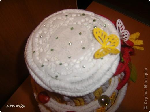 Торт из салфеток. фото 4